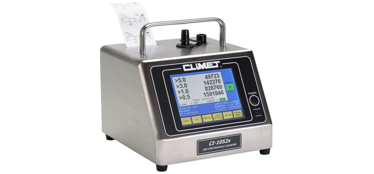 CLiMET x50 series Stand Alone Particle Counters