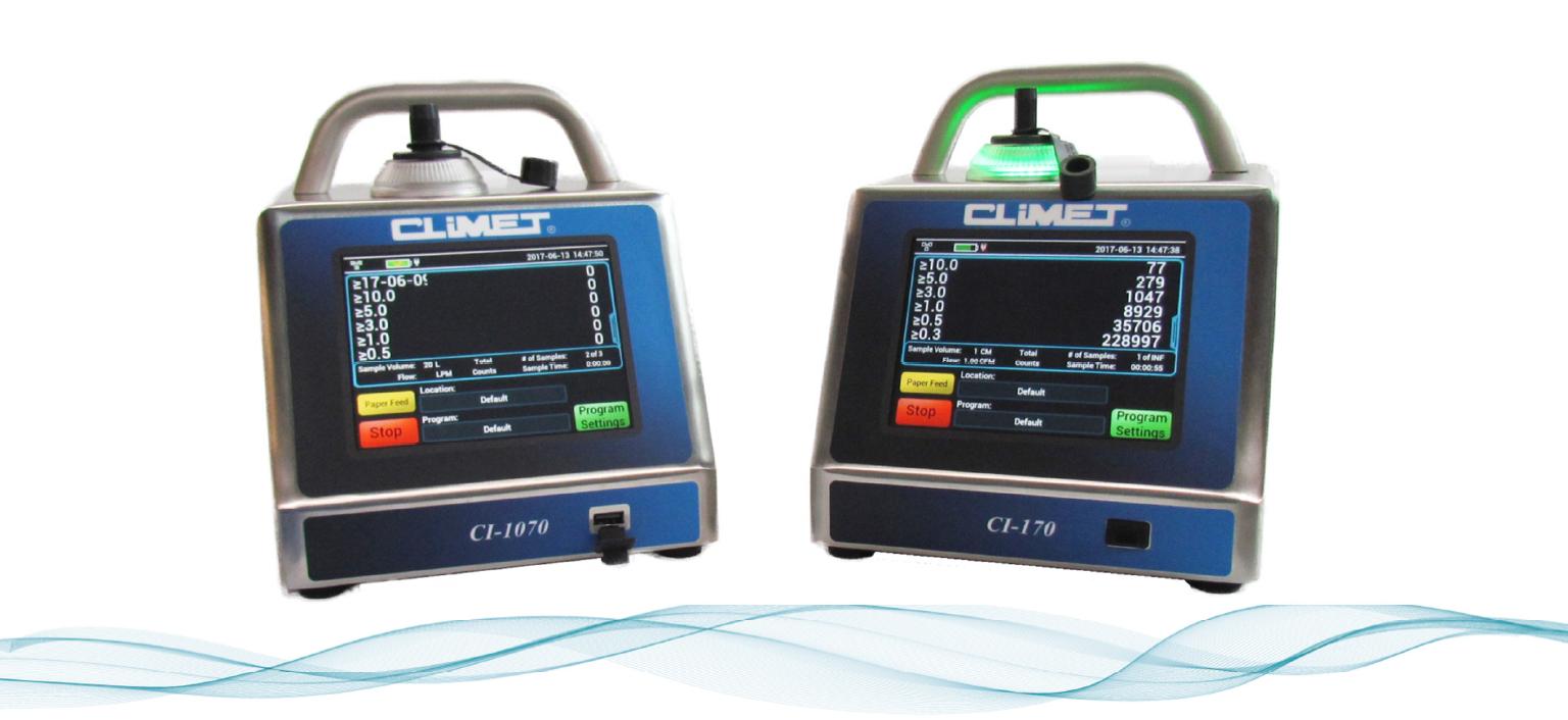 CI-x70 Series: Nextgen Portable Particle Counter